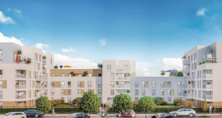 Achat / Vente immobilier neuf Bonneuil-sur-Marne proche métro Pointe du Lac (94380) - Réf. 3071