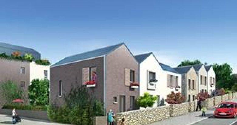 Achat / Vente immobilier neuf Bonnières-sur-Seine à deux pas des établissements scolaires (78270) - Réf. 829