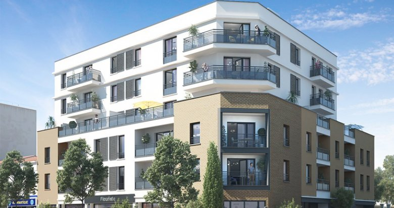 Achat / Vente immobilier neuf Brou-sur-Chantereine proche gare Vaires Torcy (77177) - Réf. 2431