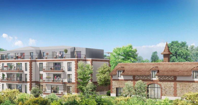 Achat / Vente immobilier neuf Brunoy proche de l'Yerres (91800) - Réf. 5447