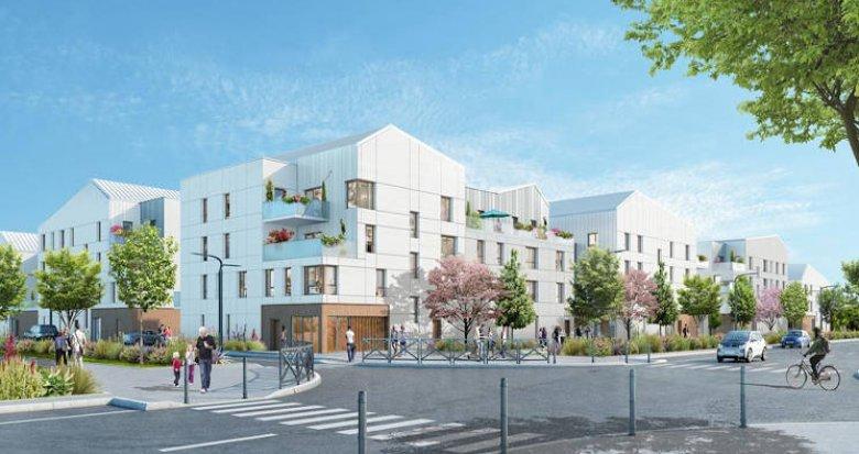 Achat / Vente immobilier neuf Bussy-Saint-Georges au coeur de l'écoquartier (77600) - Réf. 3938