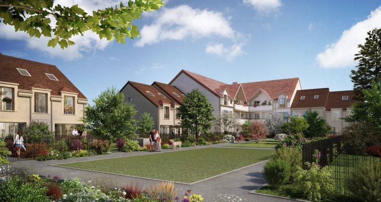 Achat / Vente immobilier neuf Bussy-Saint-Georges en bordure du golf (77600) - Réf. 6243