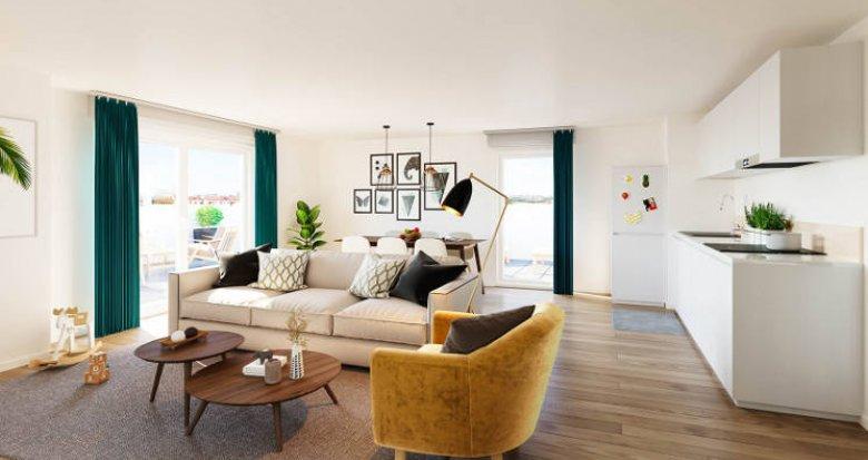 Achat / Vente immobilier neuf Cergy à 3 min du RER A (95000) - Réf. 5491