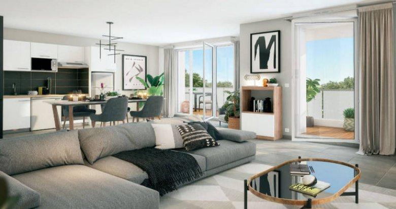 Achat / Vente immobilier neuf Cesson à 700m du RER D (77240) - Réf. 5216