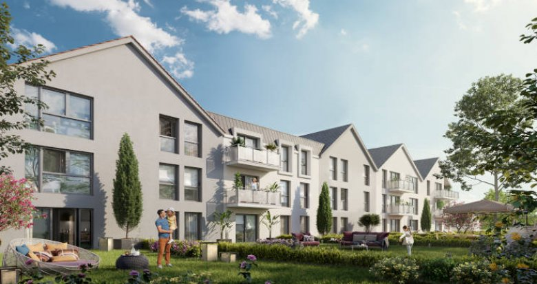 """Achat / Vente immobilier neuf Champigny-sur-Marne proche bus arrêt """"Chateaudun"""" (94500) - Réf. 3721"""