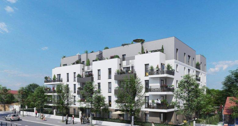 Achat / Vente immobilier neuf Champigny-sur-Marne proche Parc du Tremblay (94500) - Réf. 6181