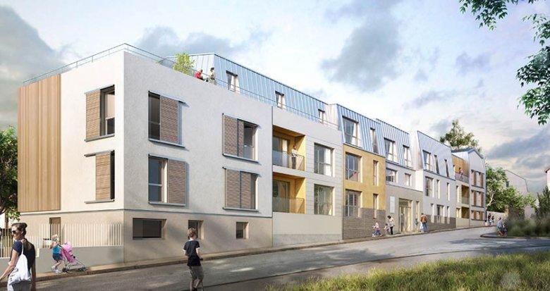 Achat / Vente immobilier neuf Chanteloup-les-Vignes centre-ville (78570) - Réf. 1800
