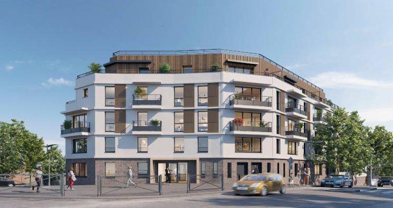 Achat / Vente immobilier neuf Châtillon proche parc et commodités (92320) - Réf. 4233