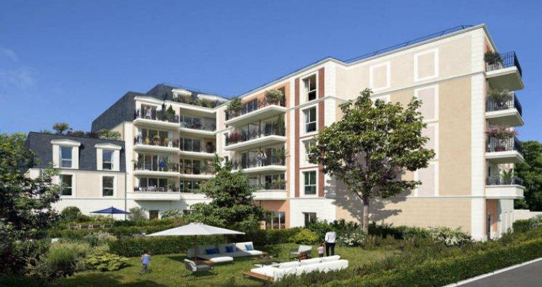 Achat / Vente immobilier neuf Chelles à 500m de la gare Chelles-Gournay (77500) - Réf. 4749
