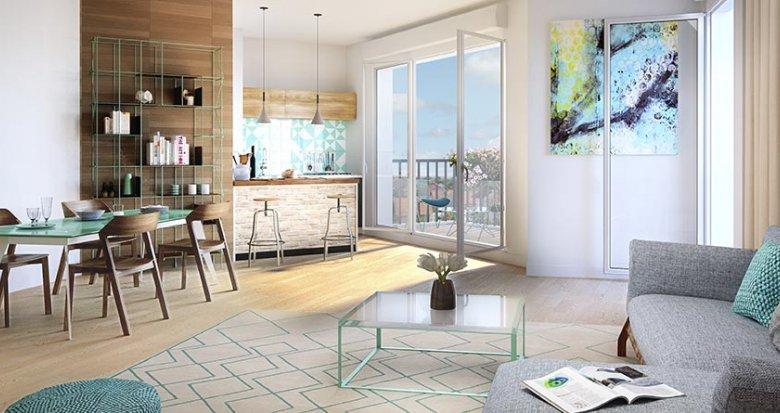achat immobilier neuf chennevi res sur marne proche du centre commercial pince vent 94430. Black Bedroom Furniture Sets. Home Design Ideas