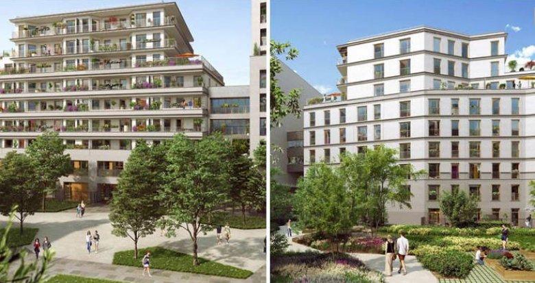 Achat / Vente immobilier neuf Chevilly-Larue au pied de la ligne T7 du tramway (94550) - Réf. 3427