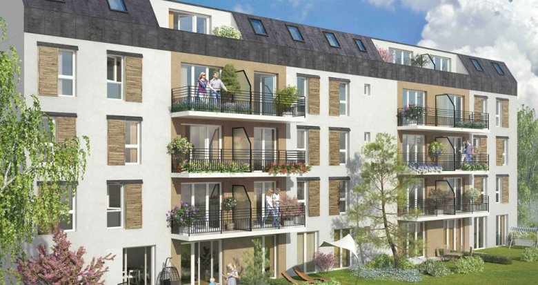 Achat / Vente immobilier neuf Choisy-le-Roi en face du parc de la Mairie (94600) - Réf. 258