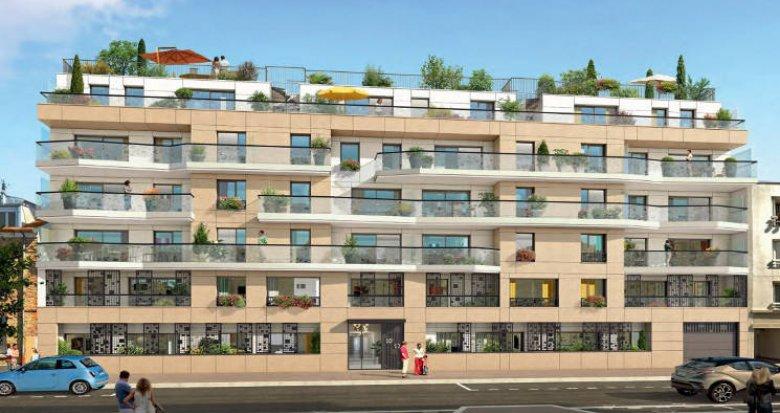 Achat / Vente immobilier neuf Clichy-La-Garenne proche de la gare (92110) - Réf. 4369