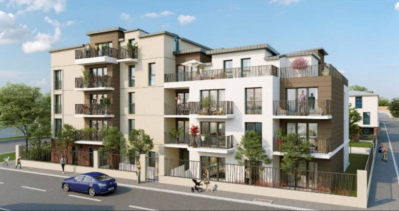 Achat / Vente immobilier neuf Clichy-sous-Bois proche tramway T4 (93390) - Réf. 4266