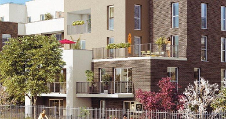 Achat / Vente immobilier neuf Combs-la-Ville quartier Prévert (77380) - Réf. 2690