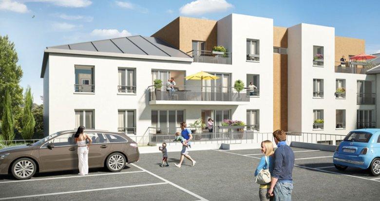 Achat / Vente immobilier neuf Crécy-la-Chapelle proche des canaux de la vielle ville (77580) - Réf. 712