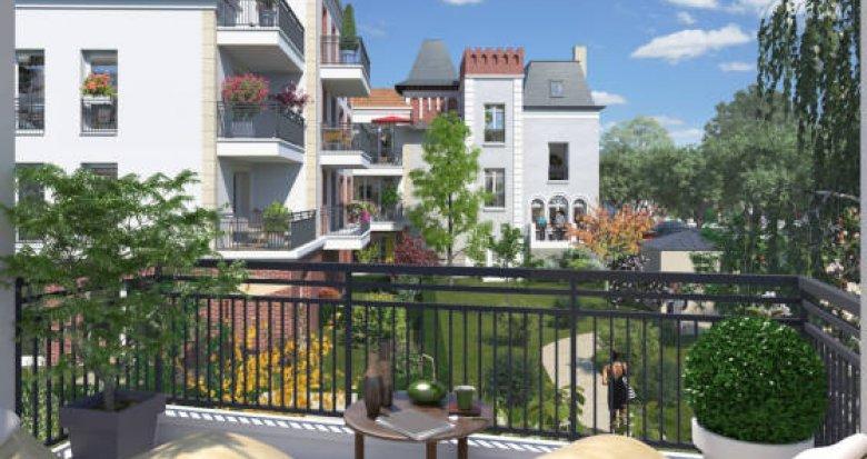 Achat / Vente immobilier neuf Créteil quartier Val de Brie (94000) - Réf. 3460