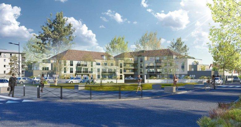 Achat / Vente immobilier neuf Dammarie-les-Lys au cœur du quartier du Petit Dammarie (77190) - Réf. 3384
