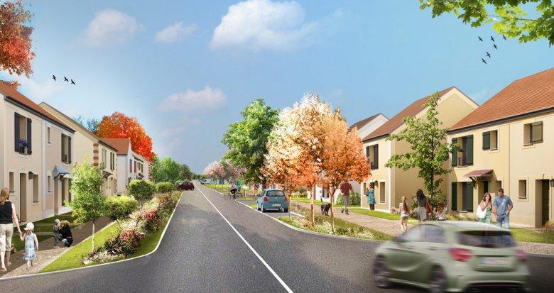 Achat / Vente immobilier neuf Dammartin-en-Goële proche aéroport Charles-de-Gaulle (77230) - Réf. 785