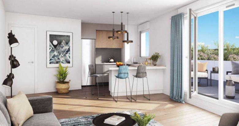 Achat / Vente immobilier neuf Drancy proche futur ligne de métro 5 et 15 (93700) - Réf. 4818