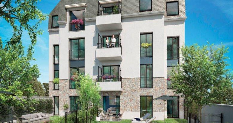 Achat / Vente immobilier neuf Draveil aux portes de la forêt de Sénart (91210) - Réf. 5613