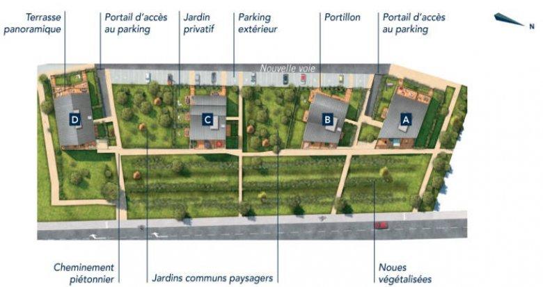 Achat / Vente immobilier neuf Ecquevilly au coeur du centre-ville (78920) - Réf. 4530