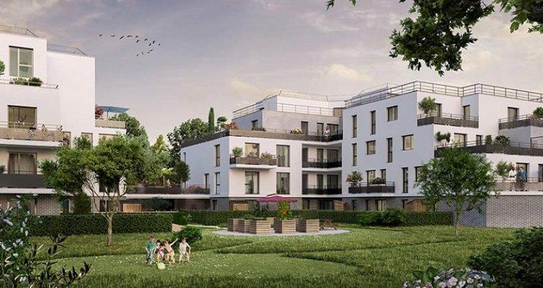 Achat / Vente immobilier neuf Elancourt belle résidence avec extérieurs (78990) - Réf. 5087