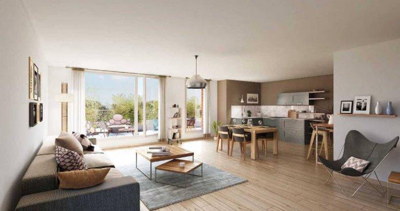 Achat / Vente immobilier neuf Epinay-sur-Seine au cœur d'un environnement pavillonnaire (93800) - Réf. 5323