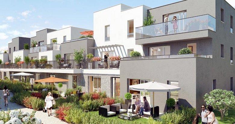 Achat / Vente immobilier neuf Eragny rue Roger Guichard (95610) - Réf. 783
