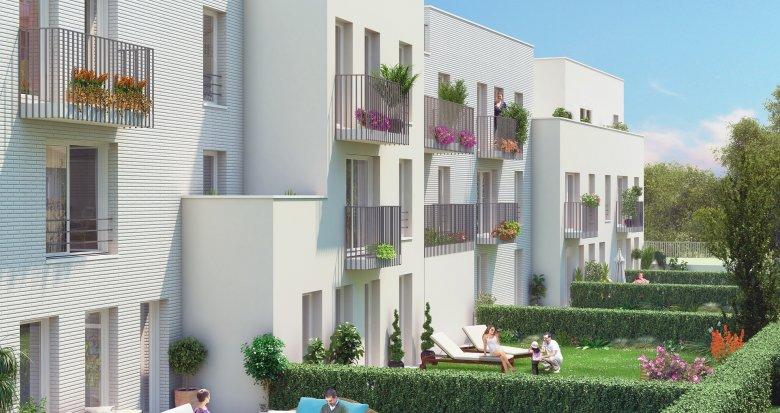 Achat / Vente immobilier neuf Fleury-Mérogis quartier des Joncs Marins (91700) - Réf. 1184