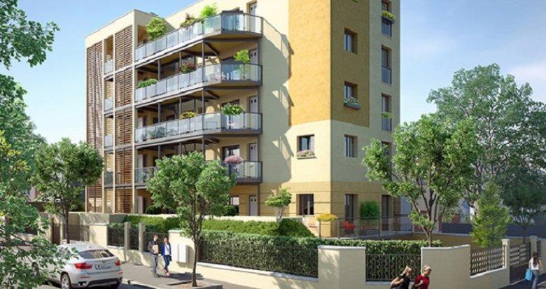 Achat / Vente immobilier neuf Fontenay-sous-Bois proche RER A et E (94120) - Réf. 2440
