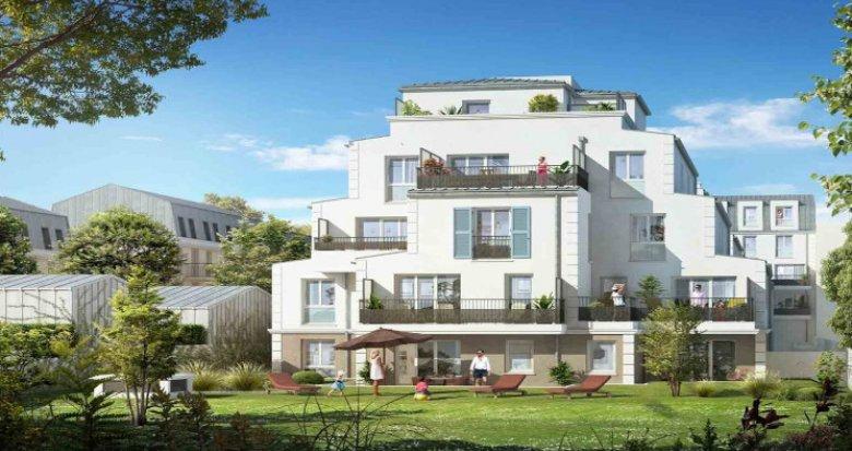 Achat / Vente immobilier neuf Franconville à 600m du RER C (95130) - Réf. 5976