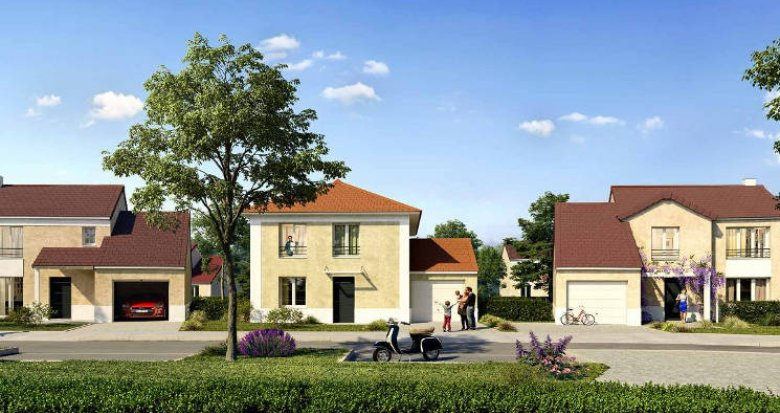 Achat / Vente immobilier neuf Gazeran à proximité de la gare (78125) - Réf. 4435