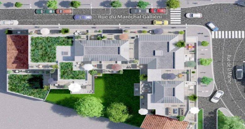 Achat / Vente immobilier neuf Houilles à deux pas des commerces (78800) - Réf. 4397