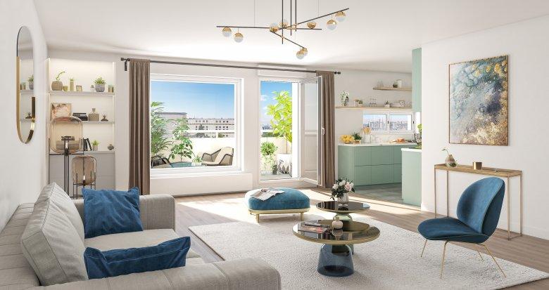 Achat / Vente immobilier neuf Issy-les-Moulineaux quartier résidentiel proche commodités (92130) - Réf. 4238