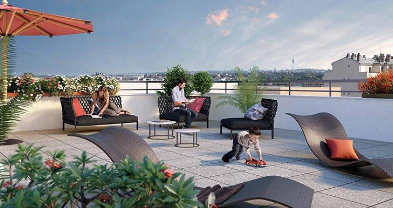 Achat / Vente immobilier neuf Joinville-le-Pont à 3 minutes du centre-ville et des bords de Marne (94340) - Réf. 1965