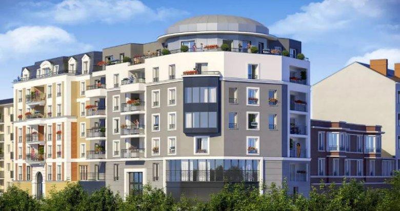 Achat / Vente immobilier neuf Juvisy-sur-Orge à 4 minutes du RER (91260) - Réf. 4534