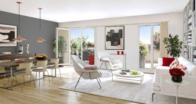 Achat / Vente immobilier neuf Juvisy-sur-Orge à 5 min à pied du RER C et D (91260) - Réf. 5346