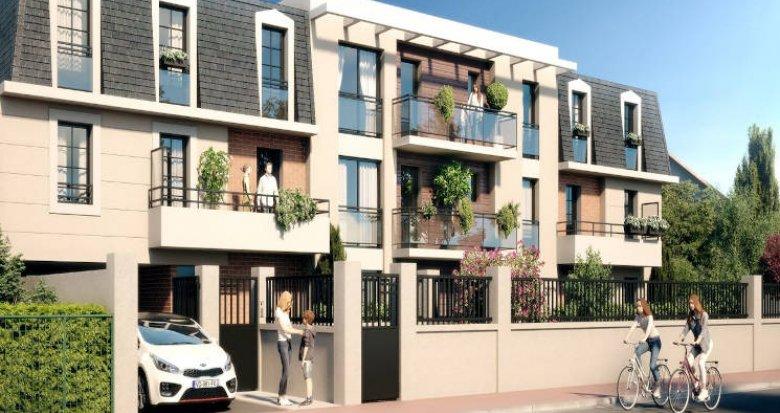 Achat / Vente immobilier neuf La Queue-en-Brie à deux pas du centre-ville (94510) - Réf. 4268
