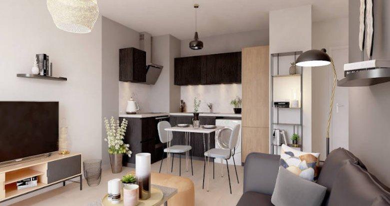 Achat / Vente immobilier neuf Le Blanc-Mesnil à 10 minutes du RER B (93150) - Réf. 4933