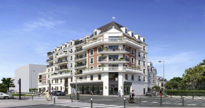 Achat / Vente immobilier neuf Le Blanc-Mesnil à 9 min à pied du RER B (93150) - Réf. 5586