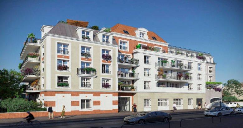 Achat / Vente immobilier neuf Le Blanc-Mesnil à distance piétonne de la gare RER B (93150) - Réf. 5951