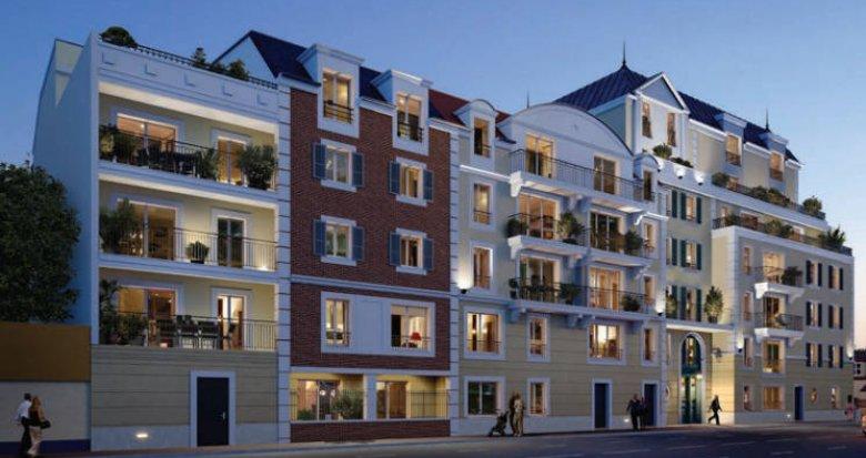 Achat / Vente immobilier neuf Le Blanc-Mesnil proche commerces et marché (93150) - Réf. 4537