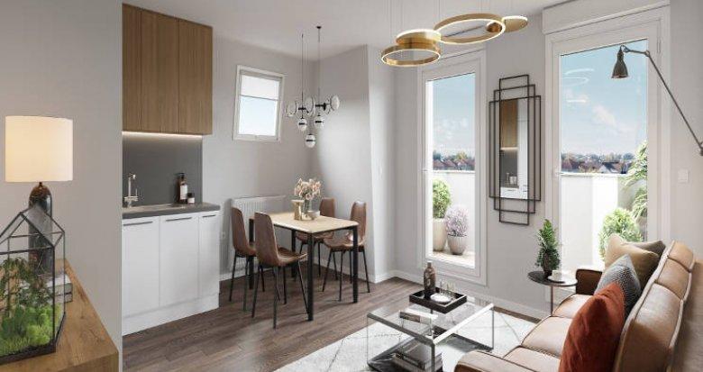 Achat / Vente immobilier neuf Le Blanc-Mesnil proche future ligne 17 (93150) - Réf. 5759