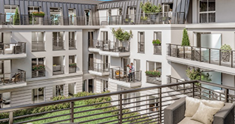 Achat / Vente immobilier neuf Le Chesnay proche centre-ville (78150) - Réf. 2077