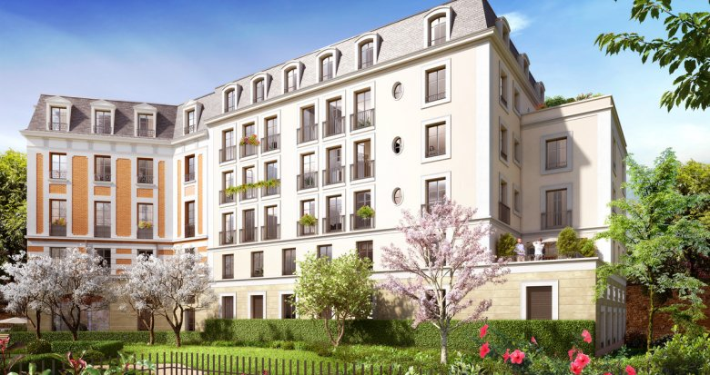 Achat / Vente immobilier neuf Le Raincy proche du centre (93340) - Réf. 2205