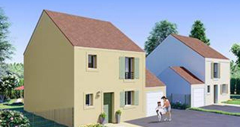 Achat / Vente immobilier neuf Les Mureaux aux abords du parc de la Becheville (78130) - Réf. 3429