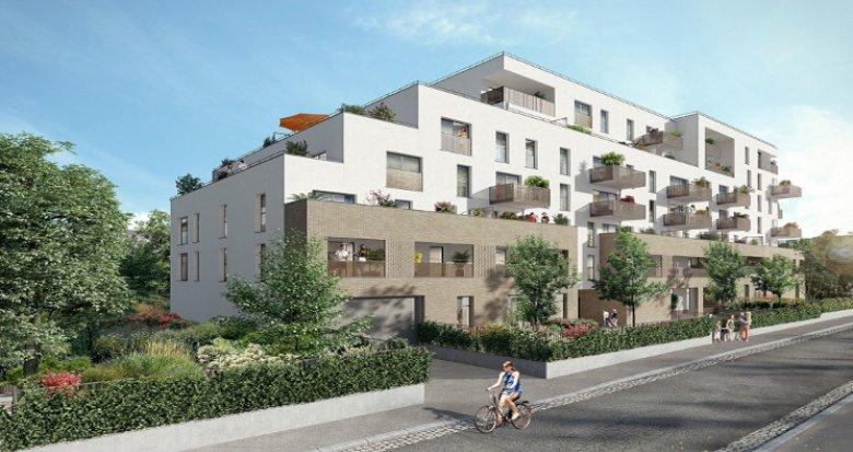 Achat / Vente immobilier neuf Les Pavillons-sous-Bois proche tramway T4 (93320) - Réf. 5540