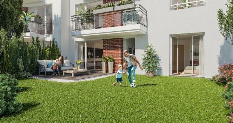 Achat / Vente immobilier neuf Livry-Gargan proche commodités (93190) - Réf. 5377