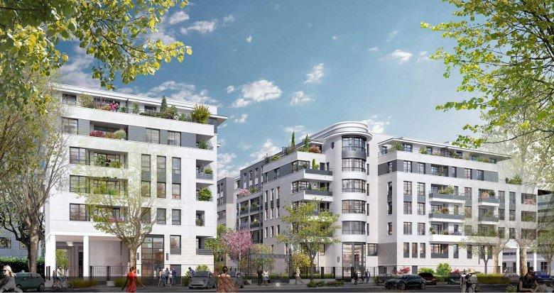Achat / Vente immobilier neuf Maisons-Alfort proche RER D (94700) - Réf. 6054